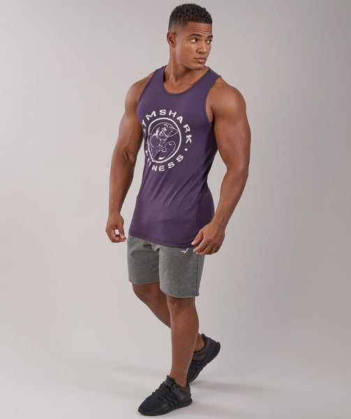 Gymshark Fitness Tank - Nightshade Purple 3