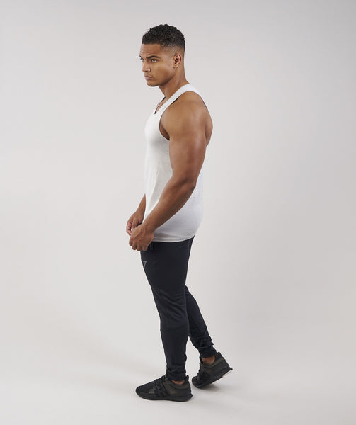 Gymshark Apex Tank - Light Grey Marl 1