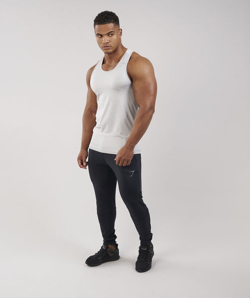 Gymshark Apex Tank - Light Grey Marl 4