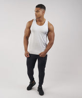 Gymshark Apex Tank - Light Grey Marl 10
