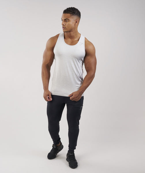 Gymshark Apex Tank - Light Grey Marl 3