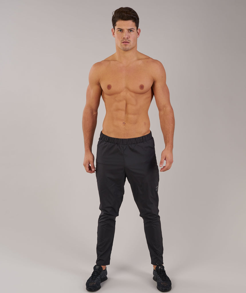 Gymshark Lightweight Training Bottoms - Black 1