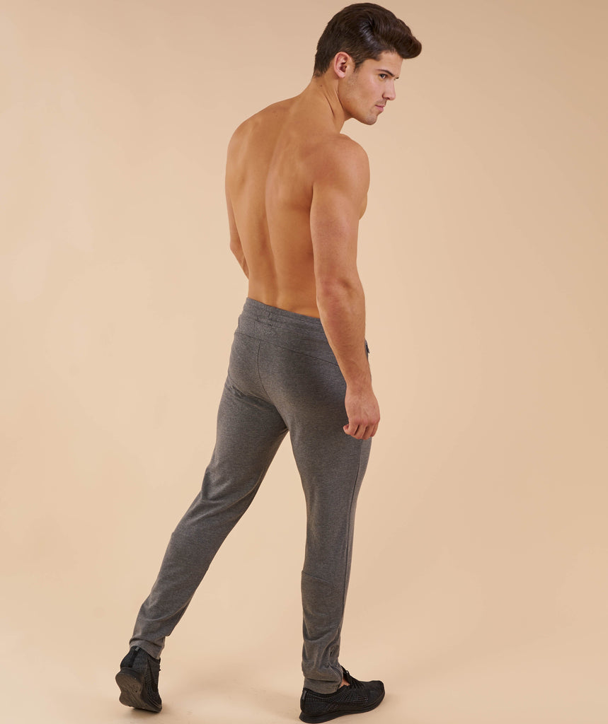 Gymshark Fit Tapered Bottoms - Charcoal Marl 2