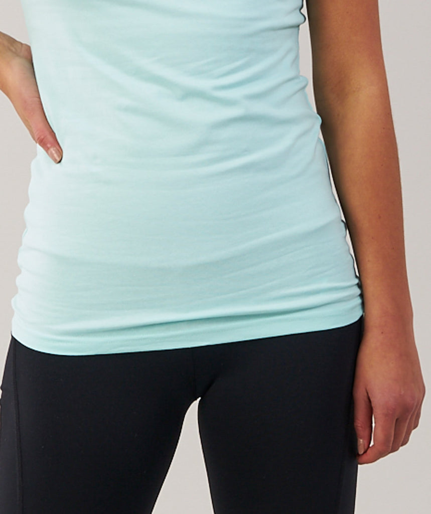 Gymshark Women's Apollo T-Shirt - Pale Turquoise 5