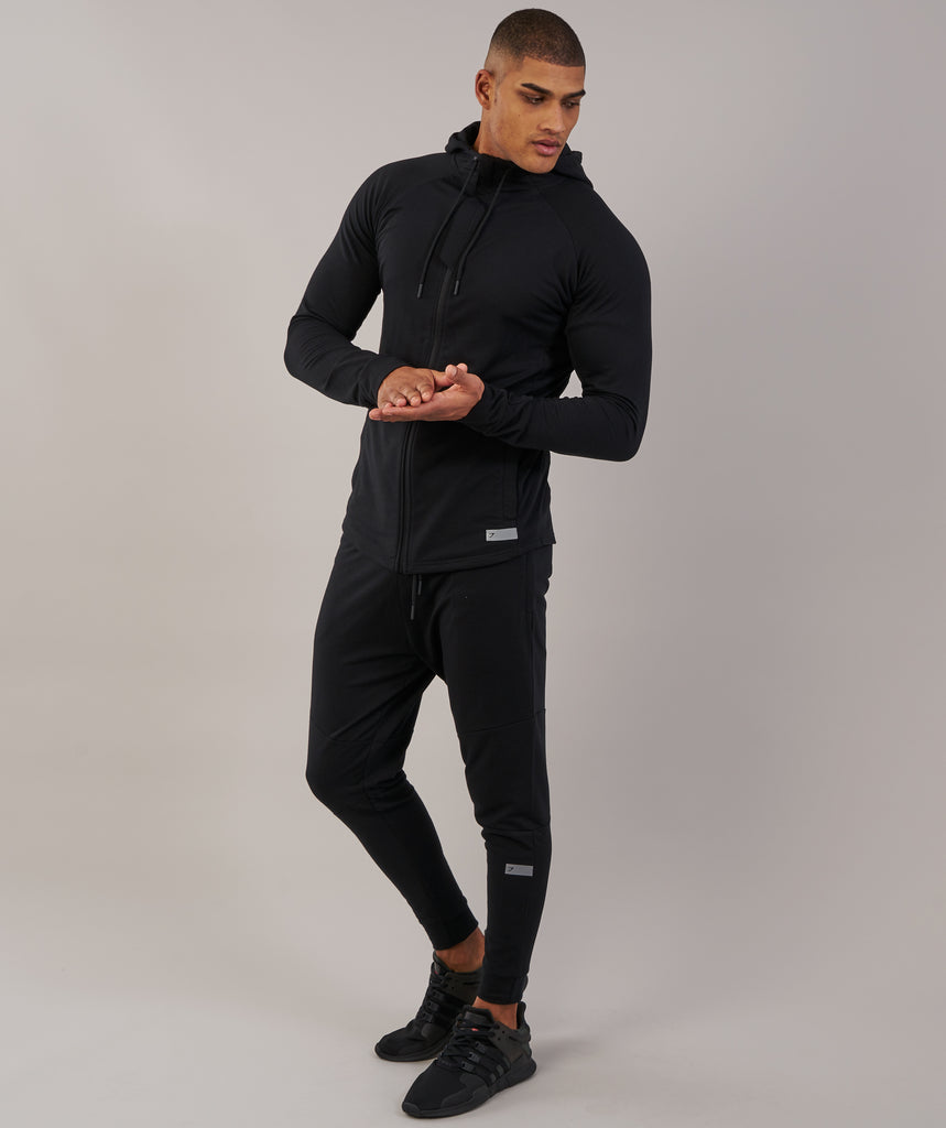 Gymshark Eaze Bottoms - Black 1