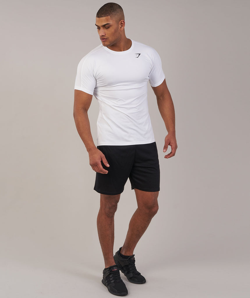 Gymshark Primary T-Shirt - White 4