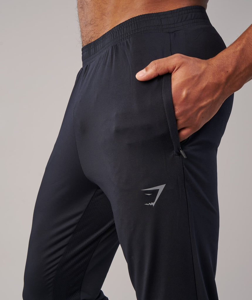 Gymshark Reactive Training Bottoms - Black/Black 6