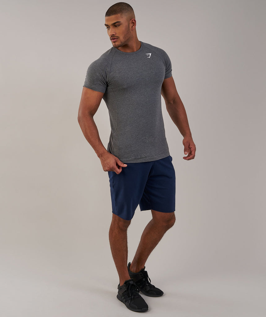 Gymshark Form T-Shirt - Charcoal Marl 1