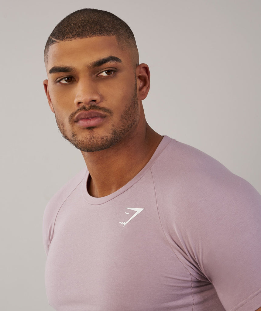 Gymshark Form T-Shirt - Purple Chalk 5