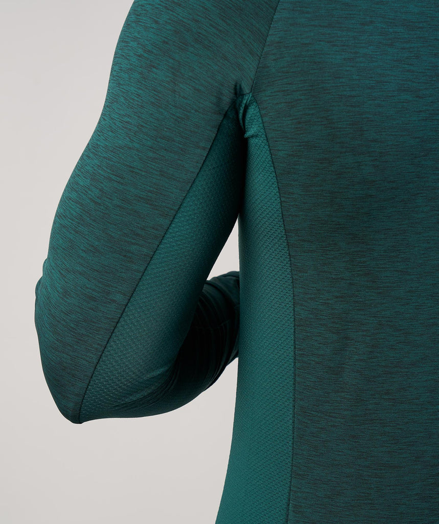 Gymshark Fallout 1/4 Zip Pullover - Forest Green Marl 6