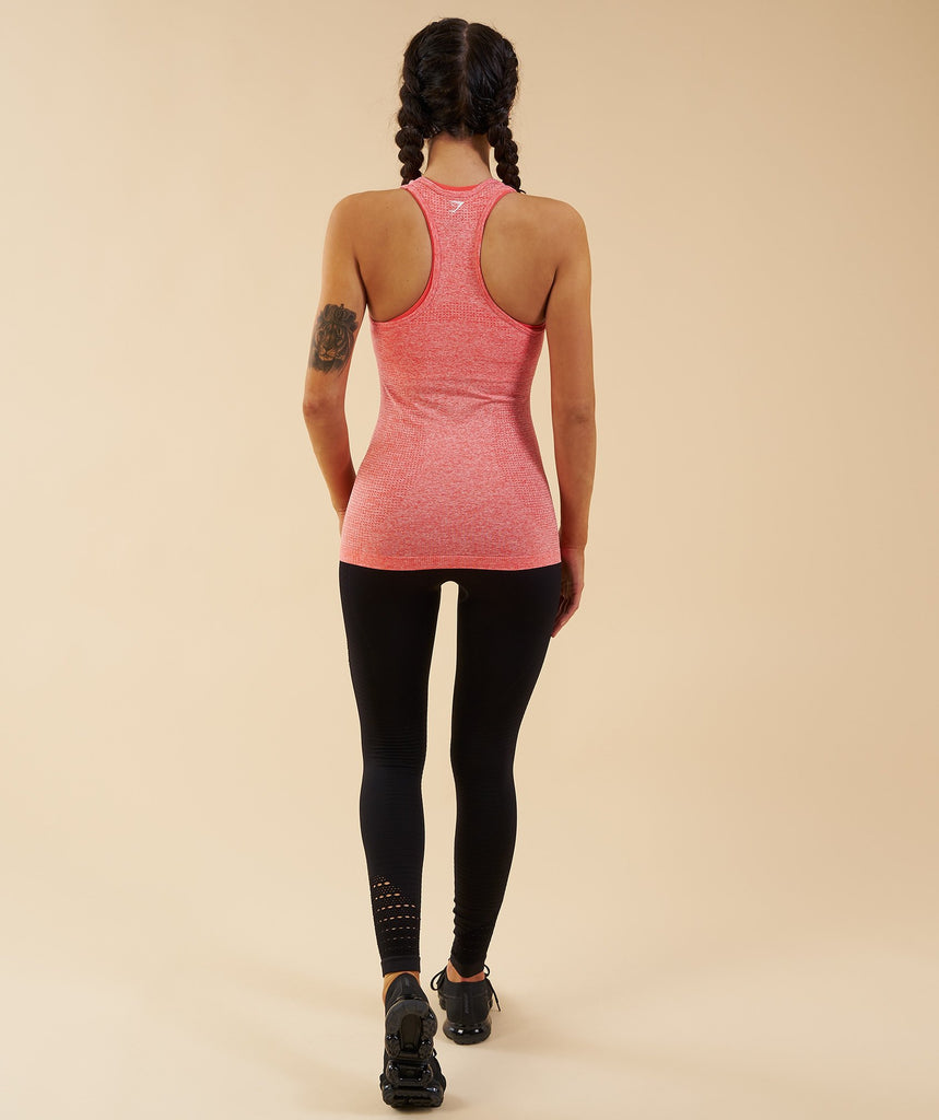 Gymshark Seamless Vest - Peach Coral 2
