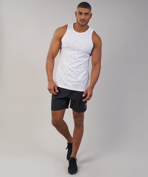 Gymshark Heather Tank - White Marl 4