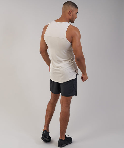 Gymshark Breathe Tank - Washed Beige 2