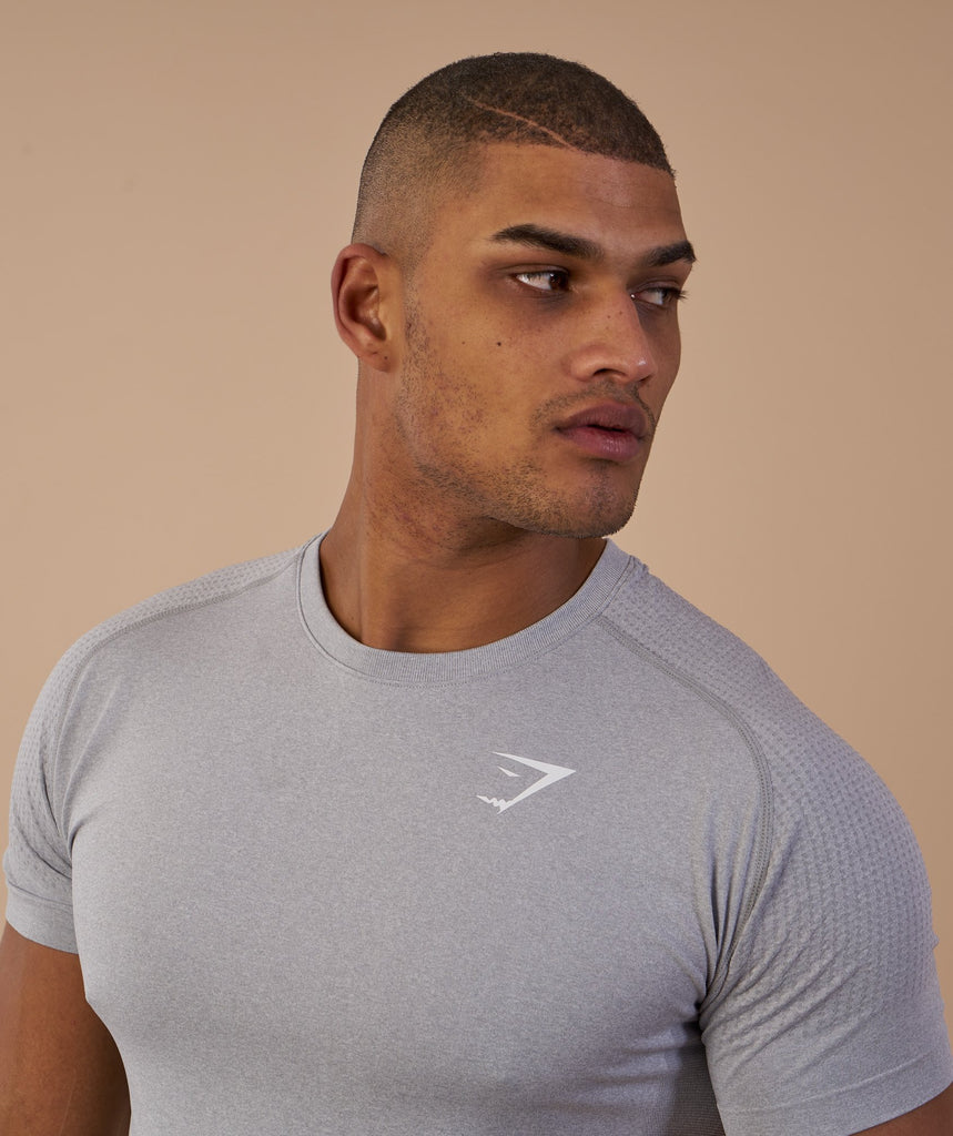 Gymshark Ghost T-Shirt - Light Grey 5