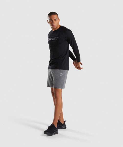 Gymshark Apollo Long Sleeve T-Shirt - Black 3