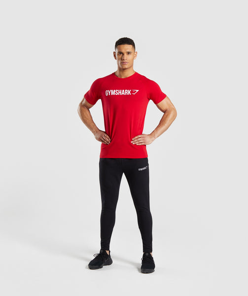 Gymshark Apollo T-Shirt - Red 3