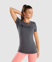 Gymshark Apollo T-Shirt - Charcoal 7