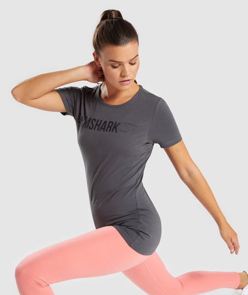 Gymshark Apollo T-Shirt - Charcoal 2