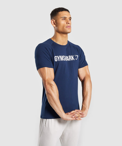 Gymshark Apollo T-Shirt - Blue 4