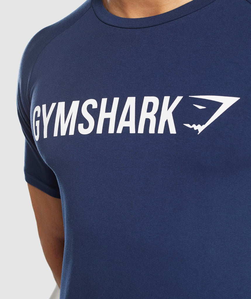 Gymshark Apollo T-Shirt - Blue 5