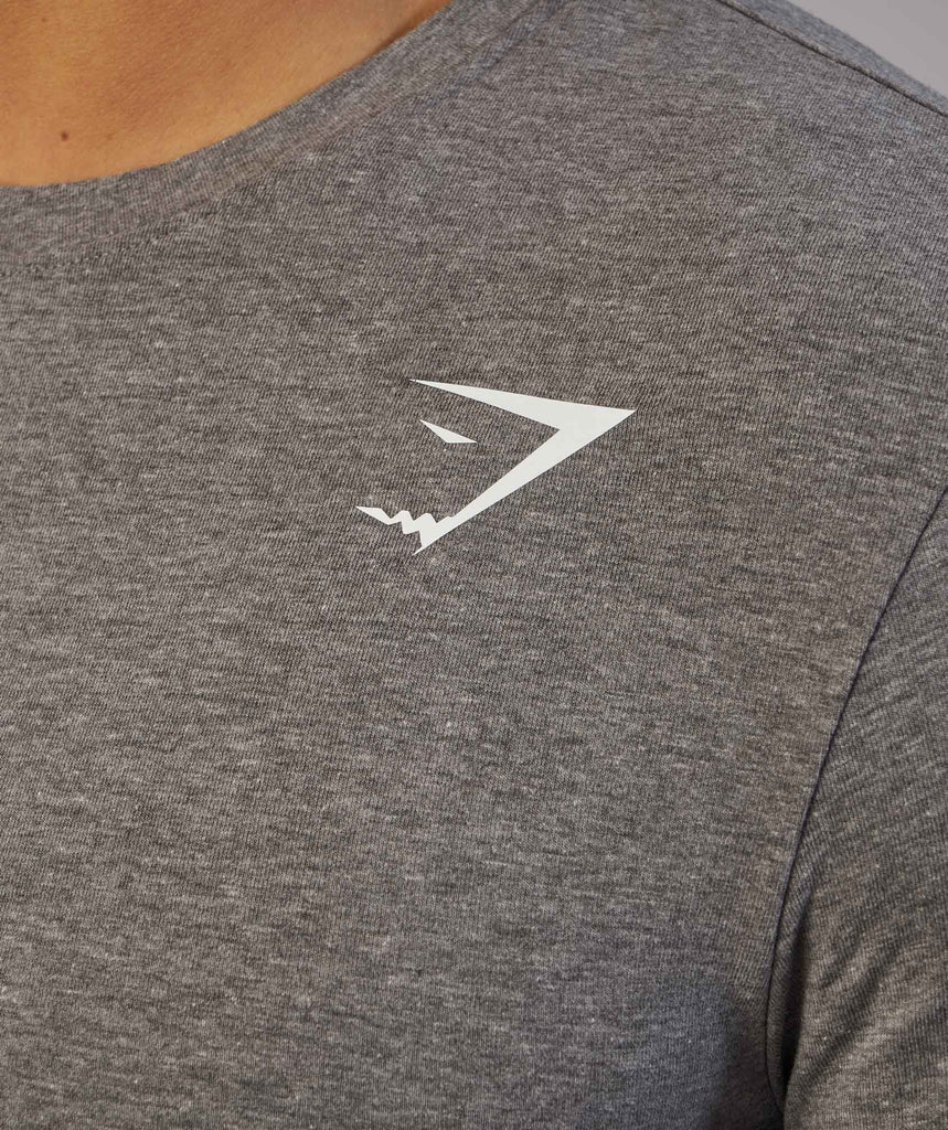 Gymshark Ark Long Sleeve T-Shirt - Slate Marl 6