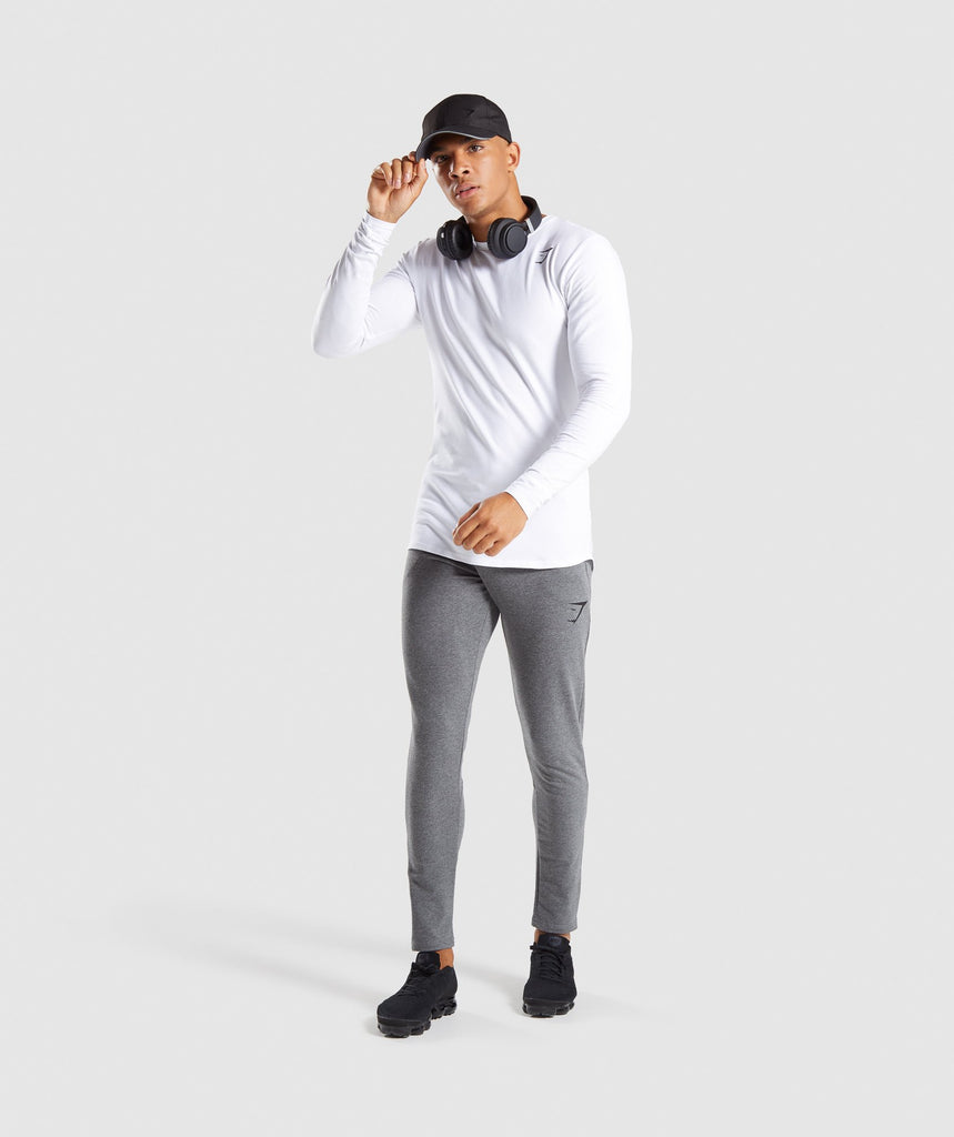 Gymshark Ark Long Sleeve T-Shirt - White 5
