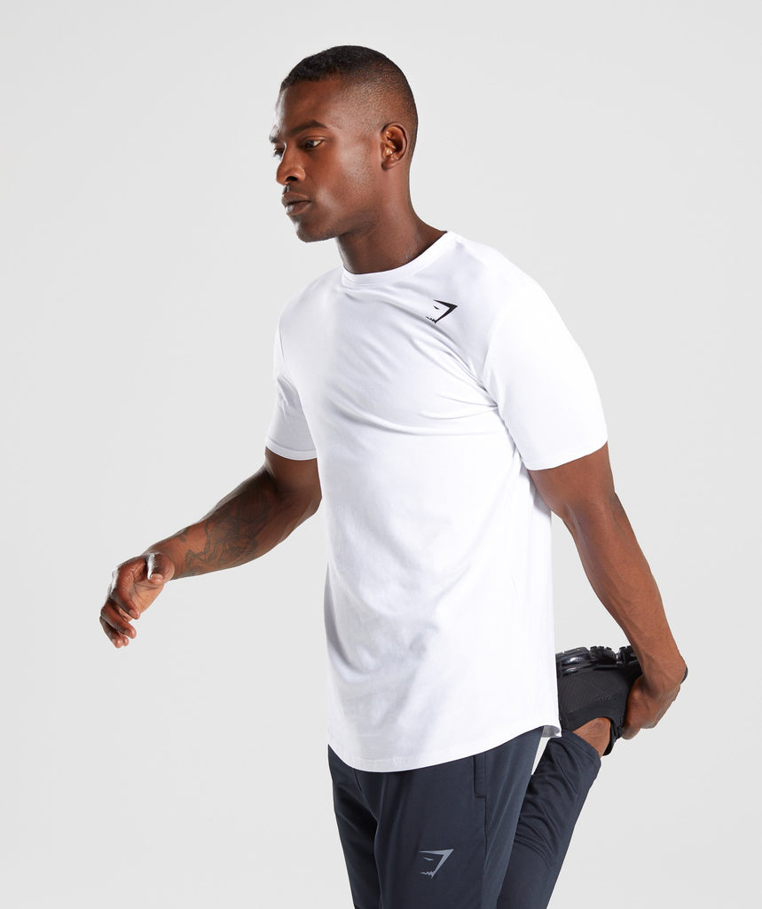 Gymshark Ark T-Shirt - White 1