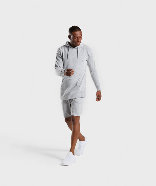 Gymshark Ark Hoodie - Light Grey Marl 2