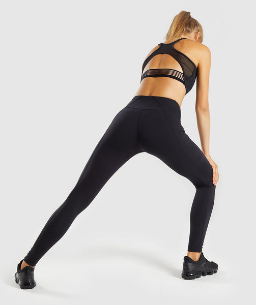 Gymshark Aspire Leggings - Black 1