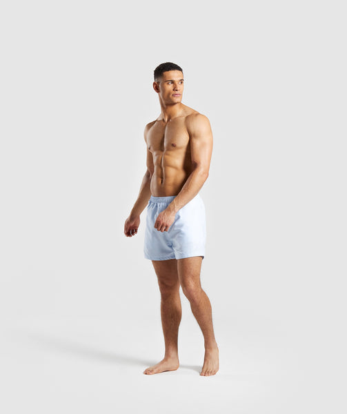 Gymshark Atlantic Swim Shorts - Light Blue 3