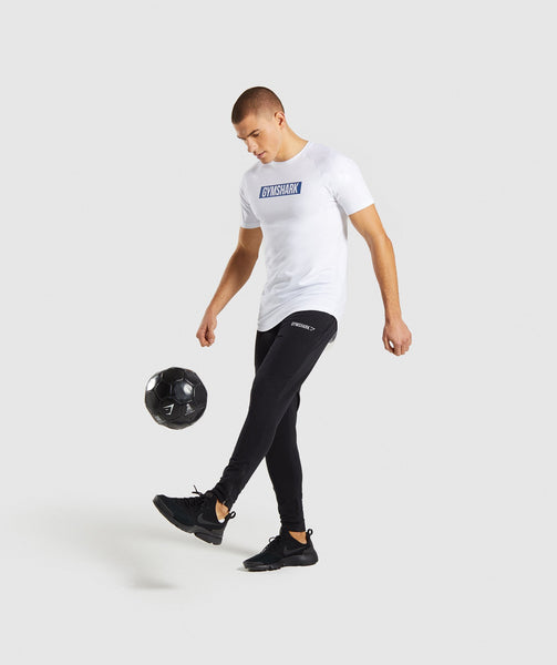 Gymshark Block T-Shirt - White 3