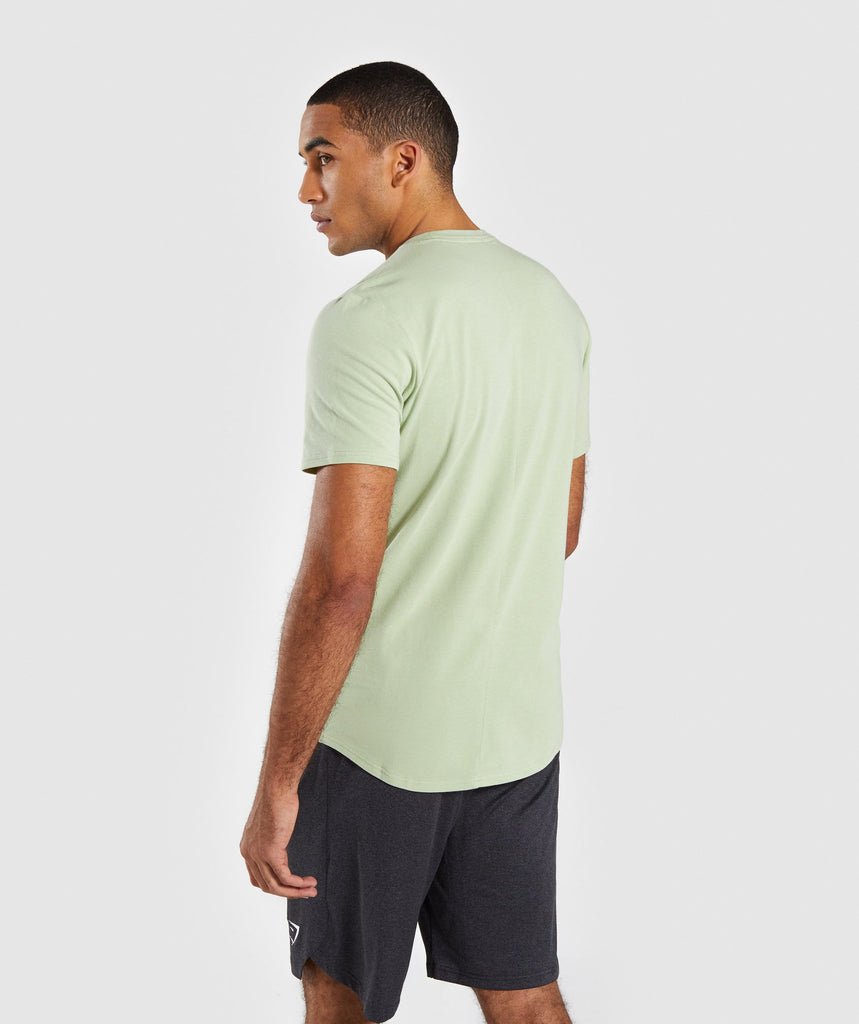 Gymshark Bold Graphic T-Shirt - Green 2
