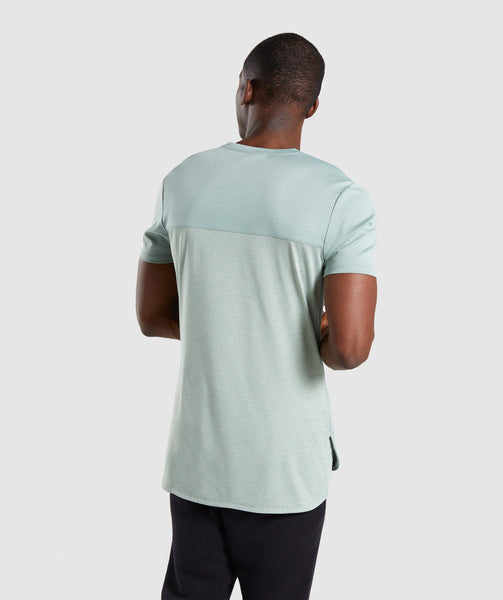 Gymshark Breathe T-Shirt - Pale Green 1