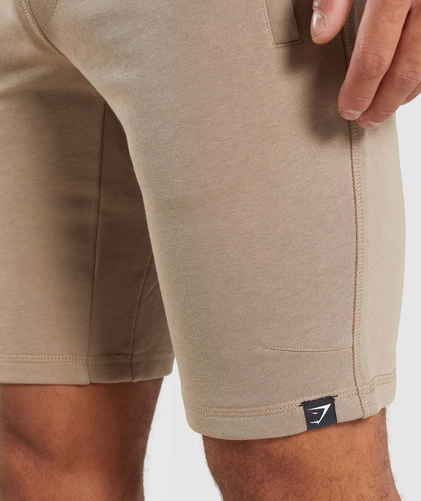 Gymshark Carbon Shorts - Driftwood Brown 5