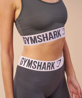 Gymshark Fit Sports Bra - Charcoal/Chalk Pink 11