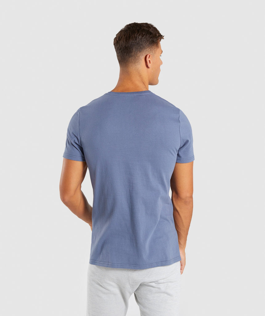 Gymshark City T-Shirt - Aegean Blue 2