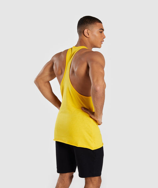 Gymshark Crucial Stringer - Yellow 1