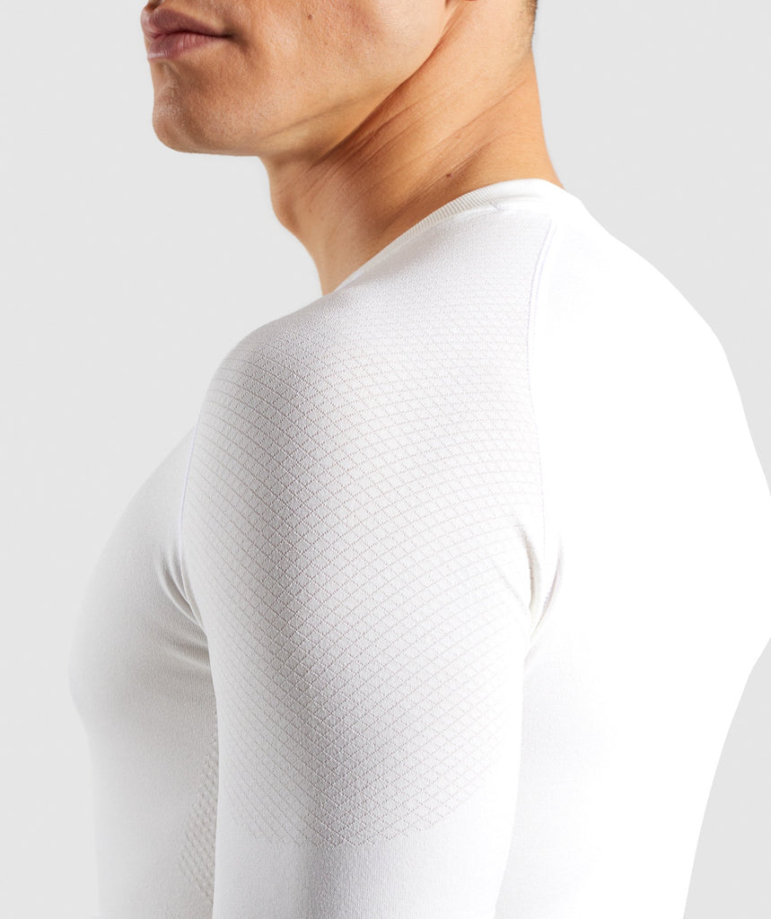 Gymshark Define Seamless T-Shirt - White 6