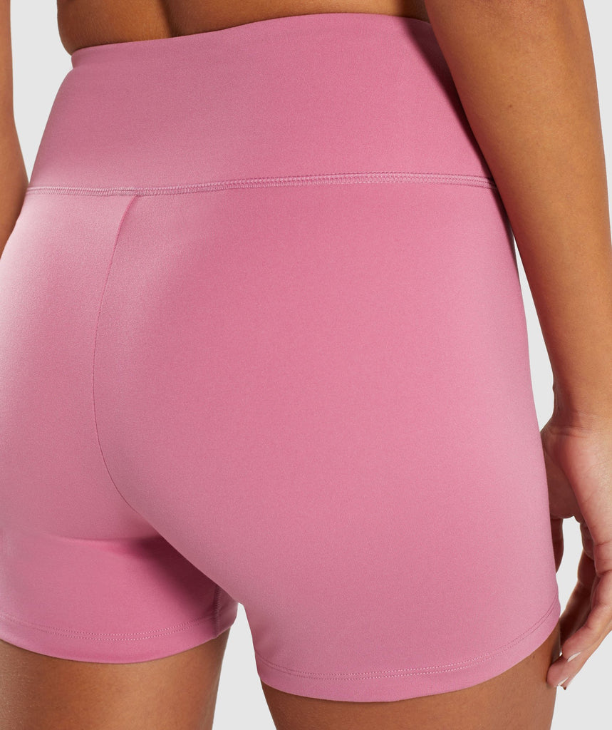 Gymshark Dreamy High Waisted Shorts - Dusky Pink 6