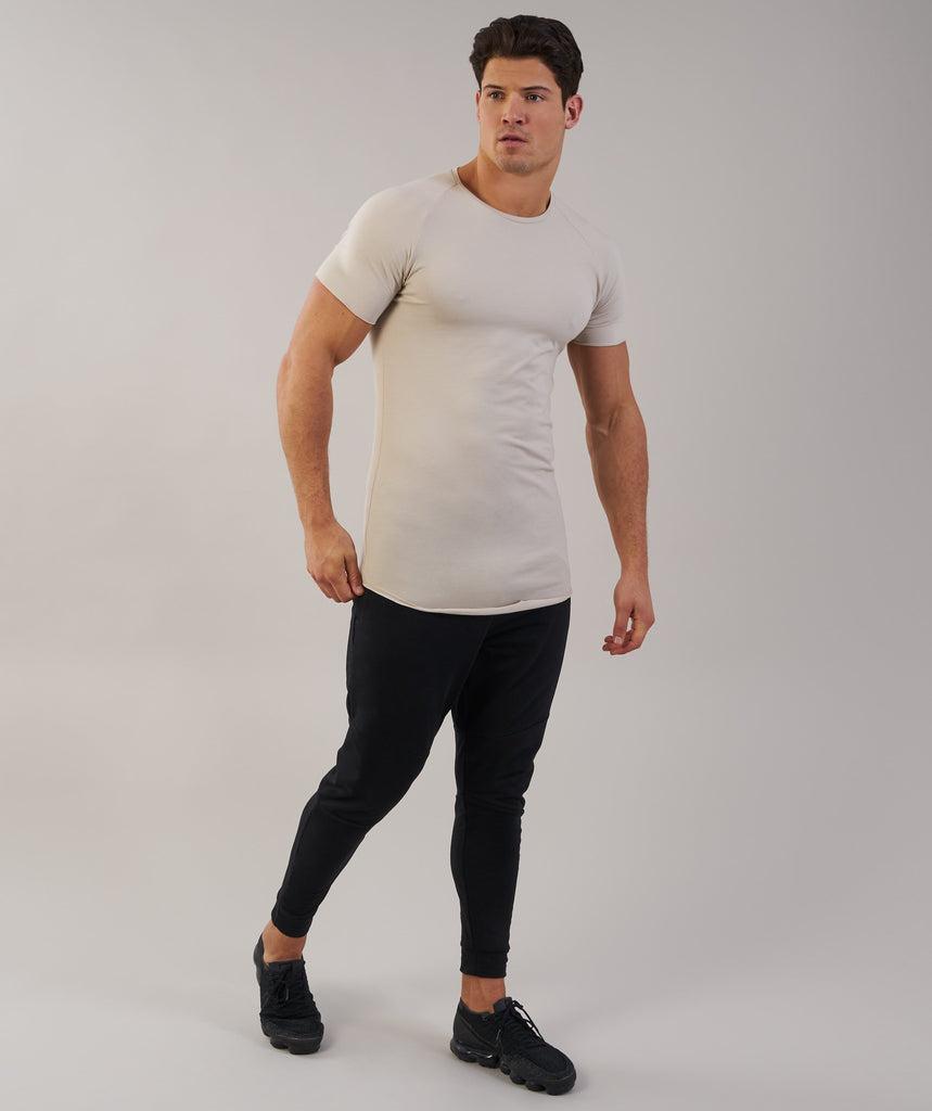 Gymshark Eaze T-Shirt - Washed Beige 2