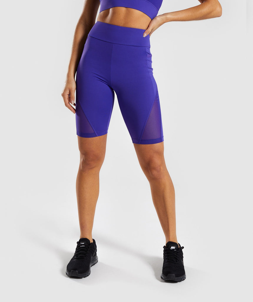 Gymshark Elevate Cycling Short - Indigo 1