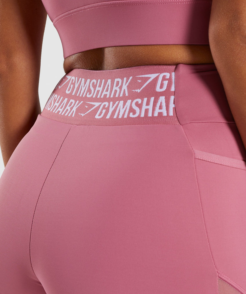 Gymshark Elevate Cycling Short - Dusky Pink 6
