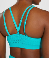 Gymshark Energy+ Seamless Sports Bra - Tropical Blue 11
