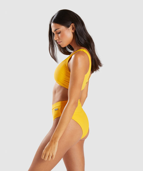 Gymshark Essence Bikini Top - Citrus Yellow 2