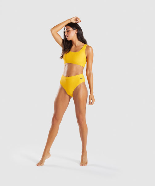 Gymshark Essence Bikini Top - Citrus Yellow 3