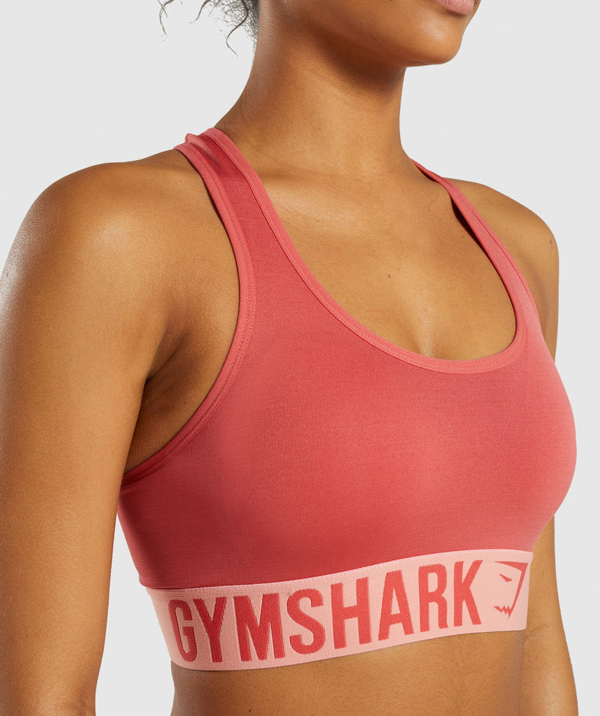 Gymshark Fit Sports Bra - Orange 5