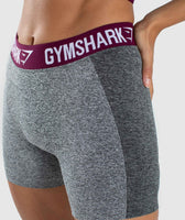 Gymshark Flex Shorts - Charcoal/Deep Plum 11