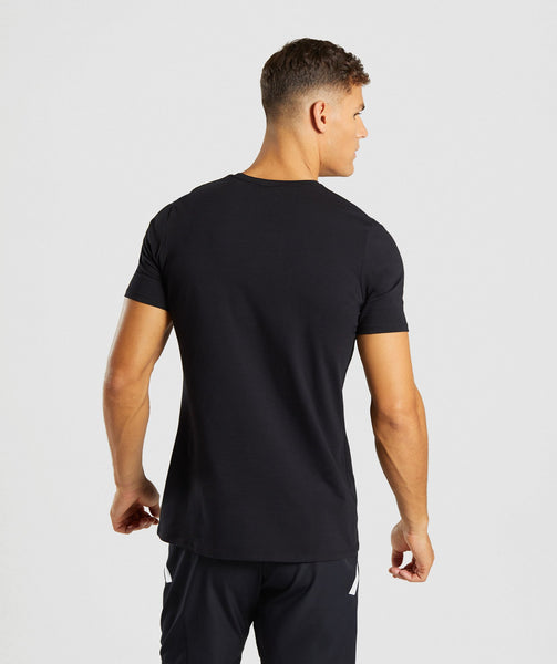 Gymshark Haze T-Shirt - Black 1