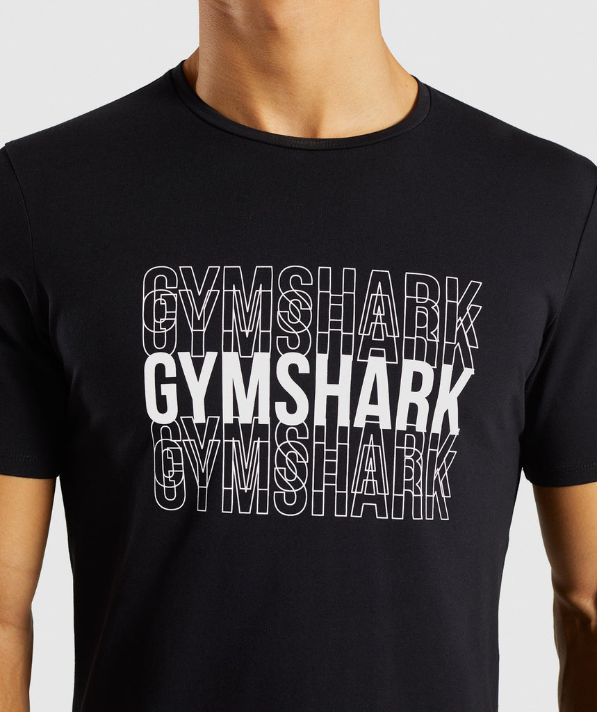 Gymshark Haze T-Shirt - Black 5