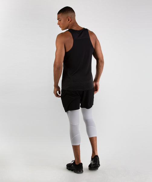 Gymshark Element Baselayer 3/4 Leggings - White 3